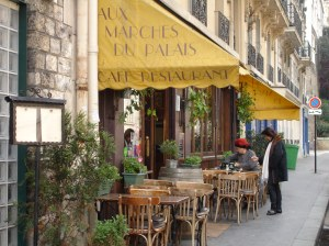 Parisian Street Cafe
